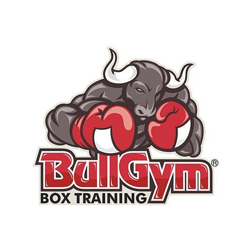 diseño de logo - bull gym
